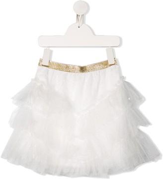 Billieblush Glitter Tulle Skirt