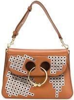 J.W.Anderson stud embellishment shoulder bag - women - Leather - One Size