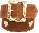 Christian Lacroix Studded Waist Belt