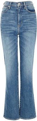 SLVRLAKE London Blue Straight-leg Jeans