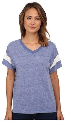 Alternative Powder Puff Tee (Eco Black/Eco Ivory) Women's T Shirt