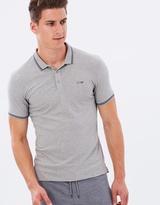 Armani Jeans Tipping Stripe Polo Shirt