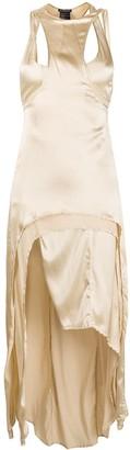 Ann Demeulemeester Layered Asymmetric-Hem Dress