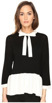 Kate Spade Flounce Sweater