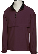 Cutter & Buck Purple WindTec Half-Zip Windshirt