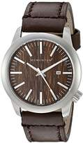 Momentum Men's 1M-SP10C2C LOGIC SS Analog Display Japanese Quartz Brown Watch