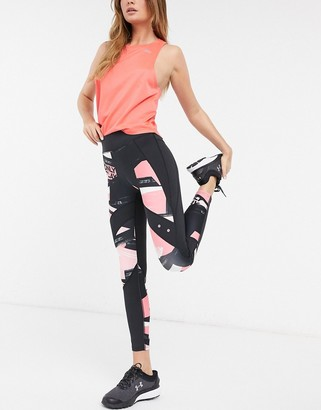 Only Play Minalis training tights in all over print