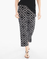 Chico's Geometric Printed Crop Pants
