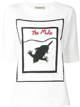 Holland & Holland The Mole print T-shirt
