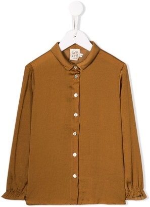 Caffe' D'orzo Buttoned Blouse