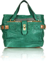 Audra leather tote