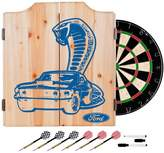 D+art's Trademark Gameroom Ford Dart Cabinet Set With Darts and Board