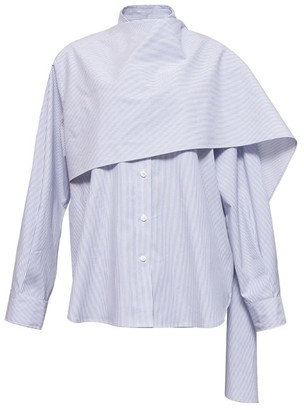 pushBUTTON Scarf Shirt