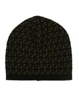 Fendi Intarsia-knit Hat