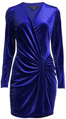 Black Halo Abina Velvet Dress