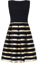 Ariella London Maeve Metallic Stripe Dress