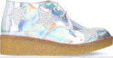 Stella McCartney Holographic Wendy wedge boots 6-11 years