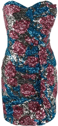 Giuseppe di Morabito Sequinned Mini Dress