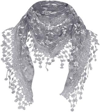 Amaone Women Scarves Women Lady Leopard Printed Chiffon Neck Scarf Shawl Muffler Scarves Wrap Pashmina Long Soft Stole Scarf