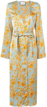 Alexis Floral-Print Kimono Dress