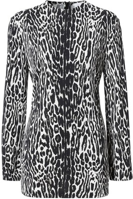 Burberry Leopard-Print Top