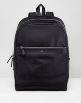 HUGO BOSS HUGO by Nylon and Leather Backpack Black