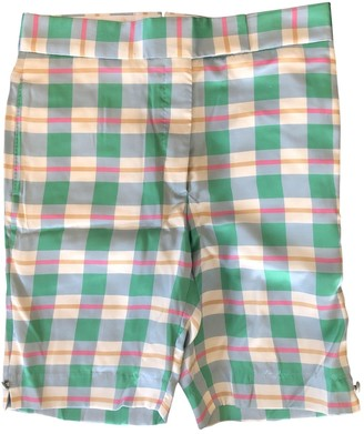 Thom Browne Multicolour Silk Shorts