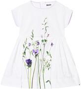 Molo Cady Short Sleeve Summer Flowers Dress
