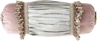 Dian Austin Couture Home Serafina Neck Roll Pillow with Tassels
