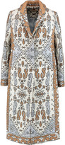 Tory Burch Jacquard coat