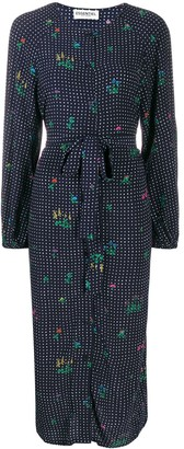 Essentiel Antwerp Tata dotted shirt dress
