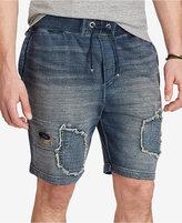 Polo Ralph Lauren Men's Big & Tall Indigo French Terry Shorts