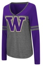 Colosseum Women's Washington Huskies Surely Long Sleeve T-Shirt