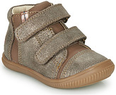 GBB ODITA girls's Shoes (High-top Trainers) in Brown
