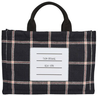 Thom Browne Tweed tote bag