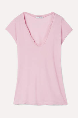 James Perse Cotton-jersey T-shirt - Pink