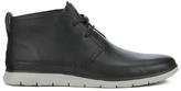 UGG Men's Freamon Grain Leather Desert Boots Black