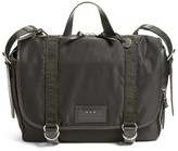John Varvatos Men's Messenger Bag - Black