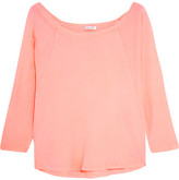 Splendid Vintage Whisper Neon Supima Cotton-jersey Top - Bright pink