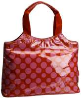 Lulu Australia Women's Polka Dot Typical French Top-Handle Bag,One Size