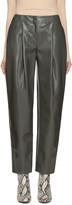 Acne Studios Grey Selah Varnish Trousers