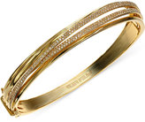 Effy D'Oro by Diamond Crossover Bangle Bracelet in 14k Gold (1 ct. t.w.)