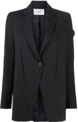 Coperni Connection single-breasted blazer