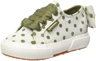 Superga Girls' 2750-GROSSGRAINFLOCKEDOTSJ Trainers