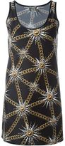 Fausto Puglisi sun and chain print dress - women - Spandex/Elastane/Polyimide - 38