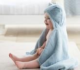 Pottery Barn Kids Nursery Fur Bear Bath Wrap