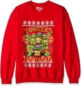 Nickelodeon Men's Teenage Mutant Ninja Turtles Ugly Christmas Sweatshirt