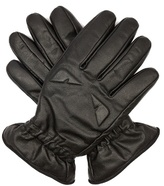 Fendi Bag Bugs-embossed Leather Gloves