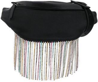 Les Petits Joueurs Crystal Fringe-Embellished Belt Bag