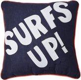 Pem America Catch a Wave Surfs Up Pillow - Blue